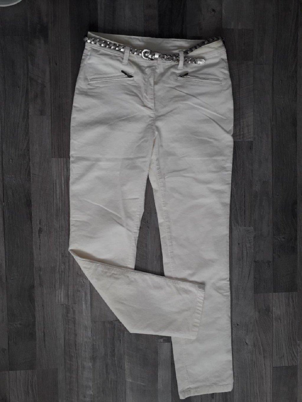 Bele pantalone od somota