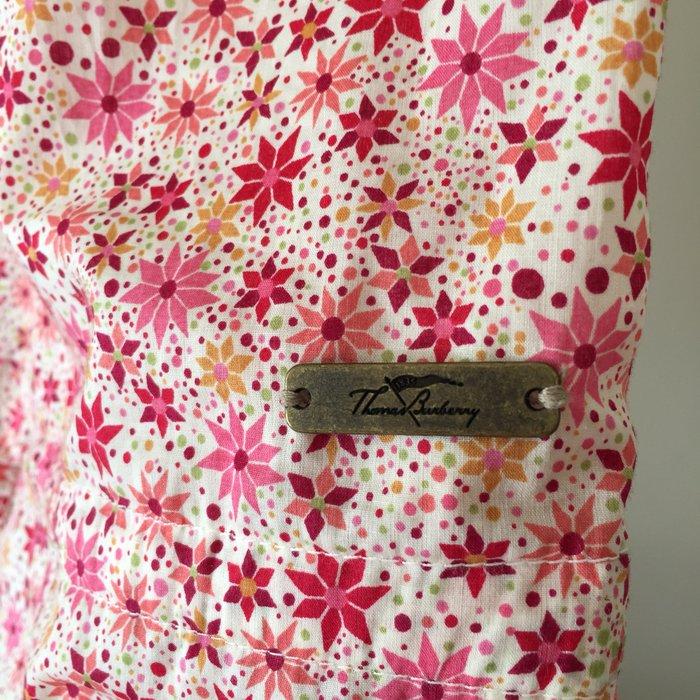 Thomas Burberry 100% αυθεντικό τοπ σε floral. Photo 2