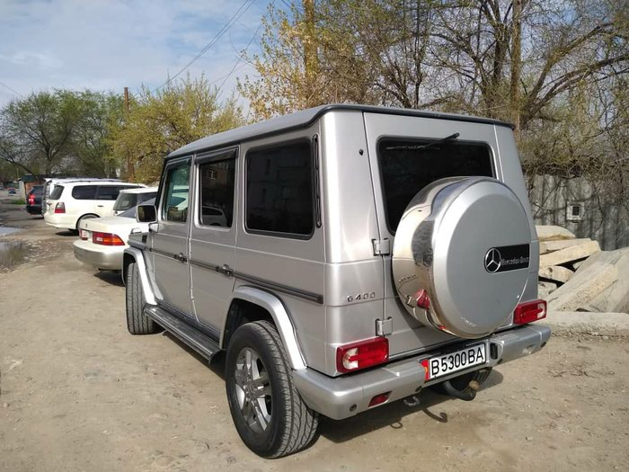 Mercedes-Benz G 400 2004. Photo 5