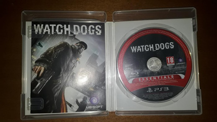 Watch Dogs PS3 DISC 5EURO. Photo 0