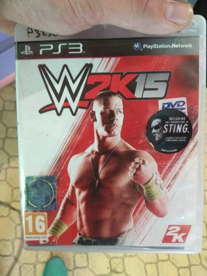 WWE 2K15-PS3 Game καινούργιο σε Αθήνα
