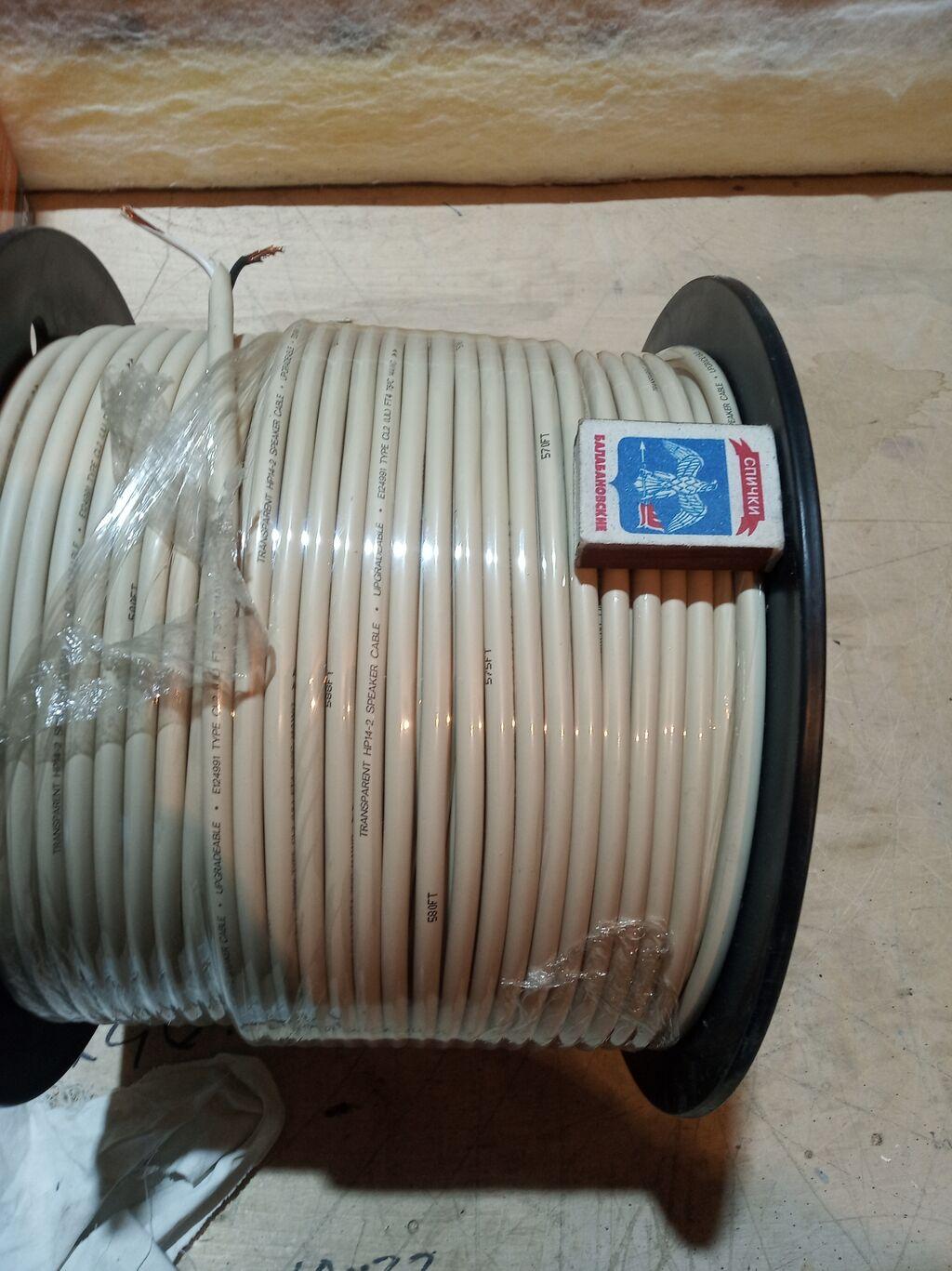 Акустический кабель. 2бухты. метр, (США) медный кабель: Акустический кабель. 2бухты. метр, (США) медный кабель
