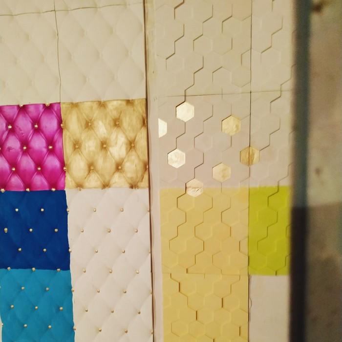 3D панель 45 сомон квадрат . Photo 4