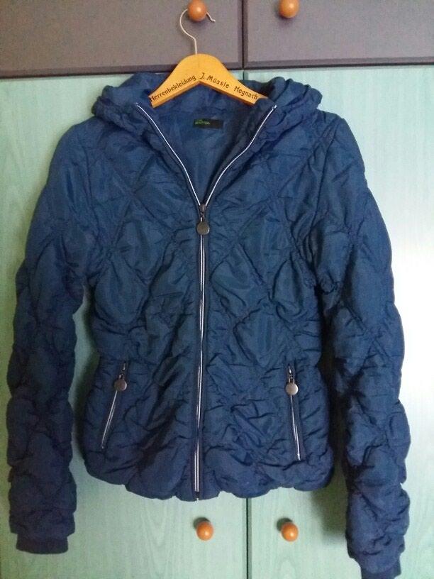 965a6e4b6c9 Μπουφάν benetton μπλε σκούρο με κουκούλα for 25 EUR in Δράμα ...