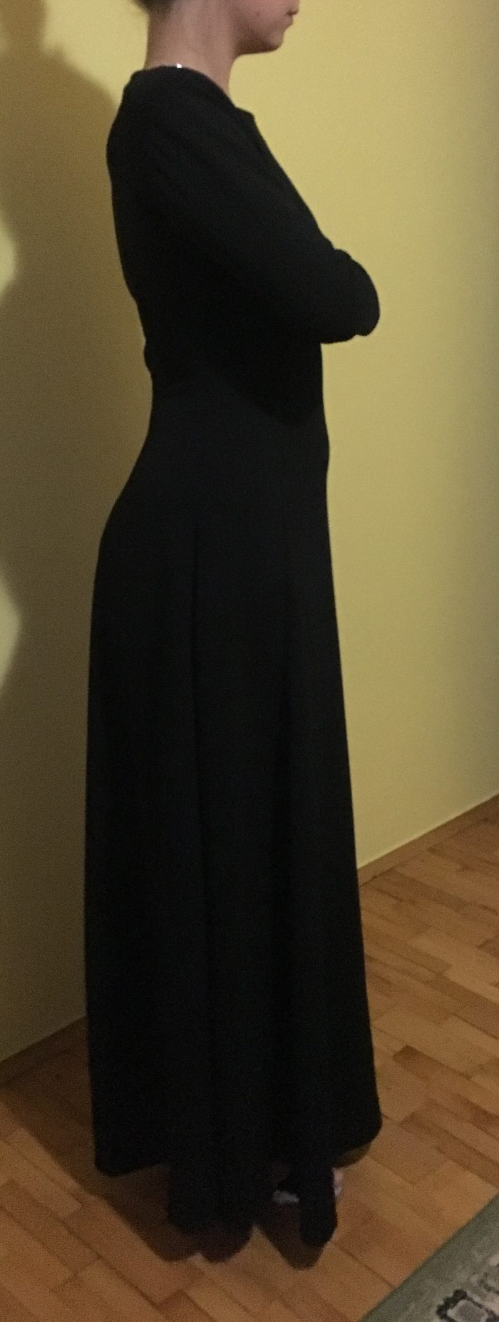 Crna duga haljina, nikad nosena. Photo 0