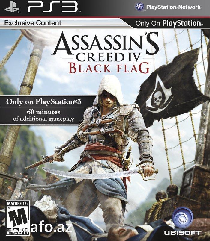 Bakı şəhərində PS3 *Assassin's Creed  - Black Flag*