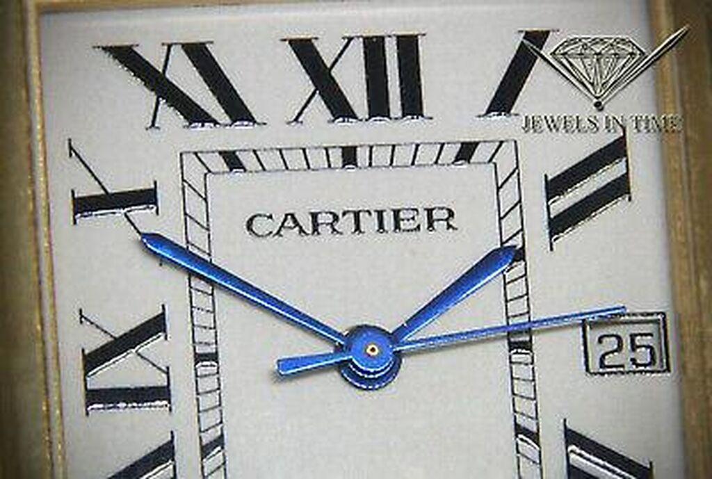 Άμεσο διαθέσιμο ρολόι Cartier Paris Vintage σε χρυσό 18k
