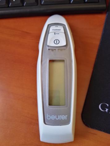 Θερμομετρο beuer καινουργιο στο κουτι του δεν εχει χρησιμοποιθει ποτε εχει ανοιχτει μονο για ελεγχο