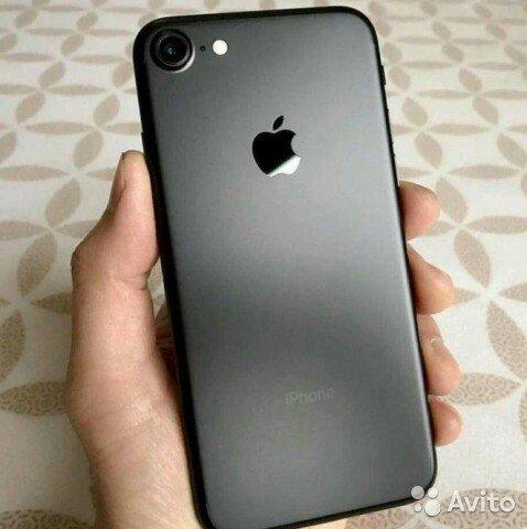 фото iphone 7 black