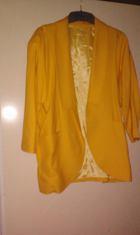 Σακάκι λινό L ελάχιστα φορεμένο