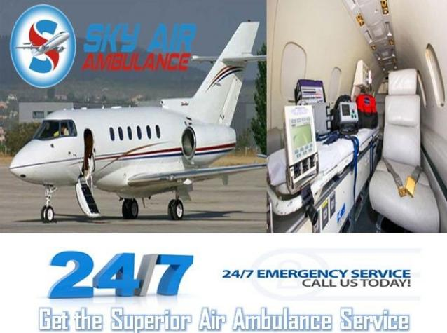 Select Air Ambulance from Patna with Full ICU Setup