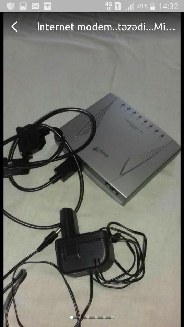 İnternet modem..təzədi...Minqəçevirdədi.. Photo 3