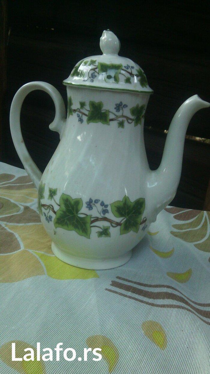 porcelanski čajnik, unikatni bez oštećenja  - Cuprija