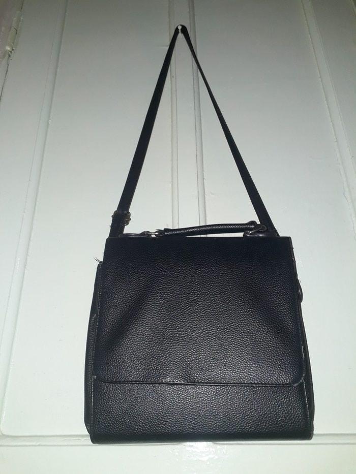 1e3538355096 Продается черная строгая сумка с двумя отделами за 50 KGS в Бишкеке ...