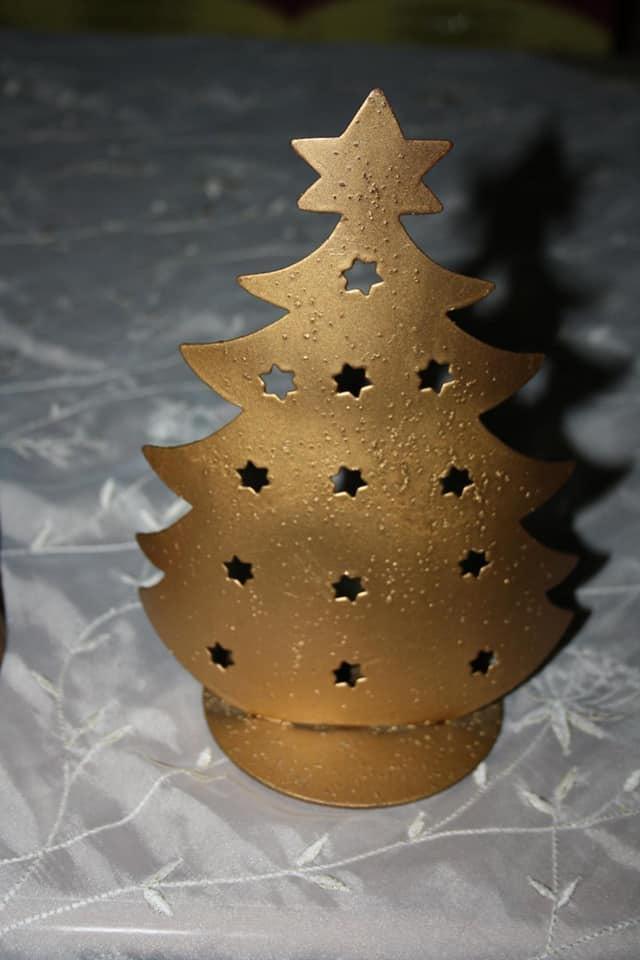 Σετ χριστουγεννιάτικα κηροπήγια.. Photo 4