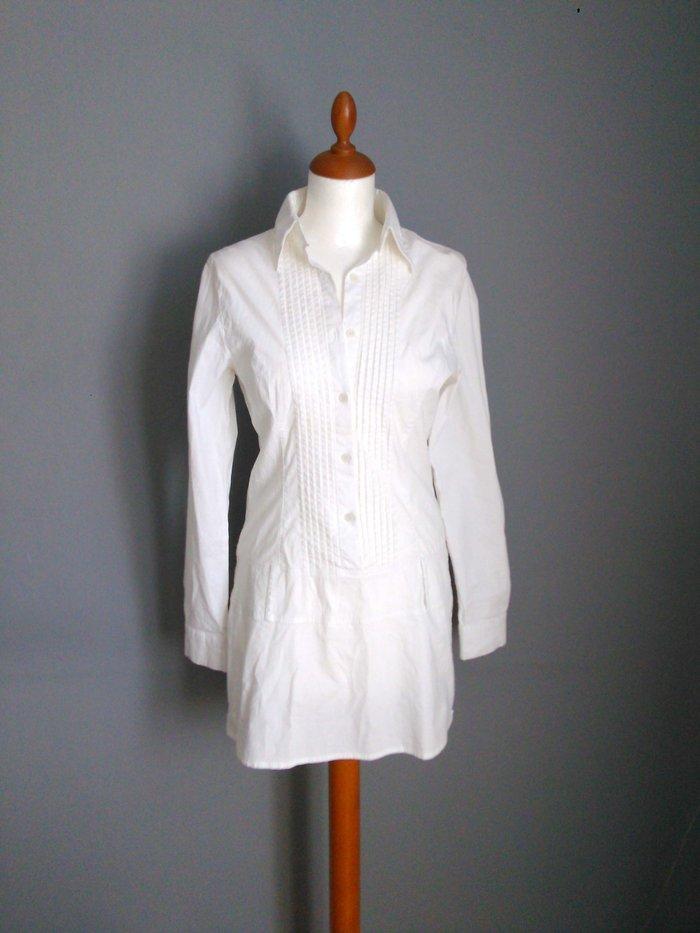 Sepia απο τα marks & spencer λευκο μακρυ πουκαμισο/τουνικ