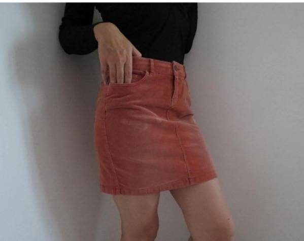 TOM TAILOR somot suknja S/M