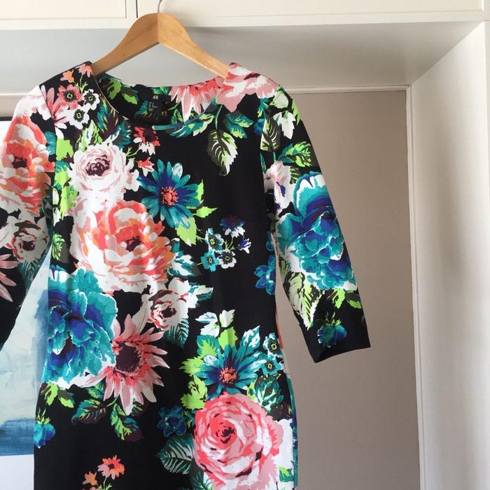 Ολοκαίνουργιο H&M μαύρο floral φόρεμα.. Photo 5