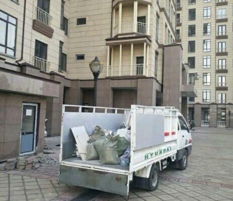 Вывоз мусор в Бишкек