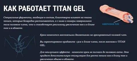 Титан Гель оригинал 100%. Photo 1