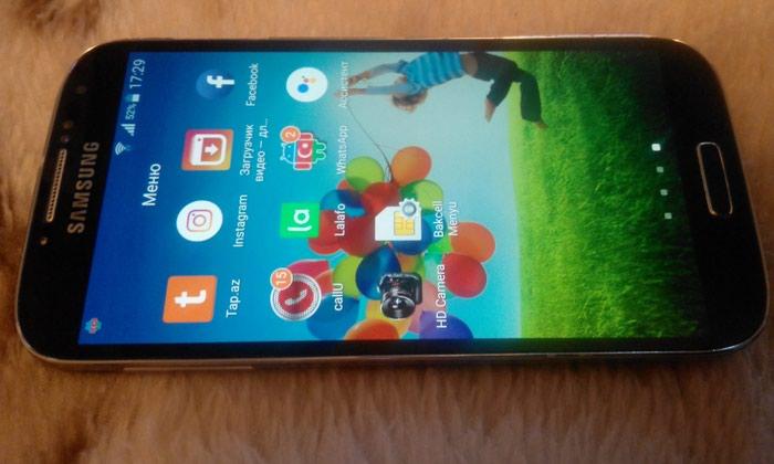 İşlənmiş Samsung Galaxy S4 16 GB qara. Photo 4