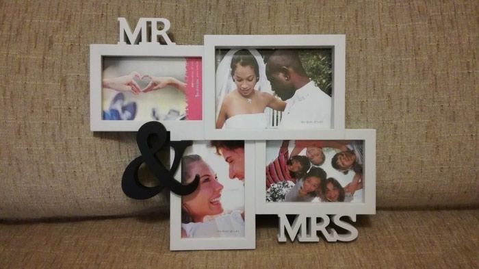 Κάδρο τοίχου με σύνθεση για 4 φωτογραφίες γάμου (η άλλες)