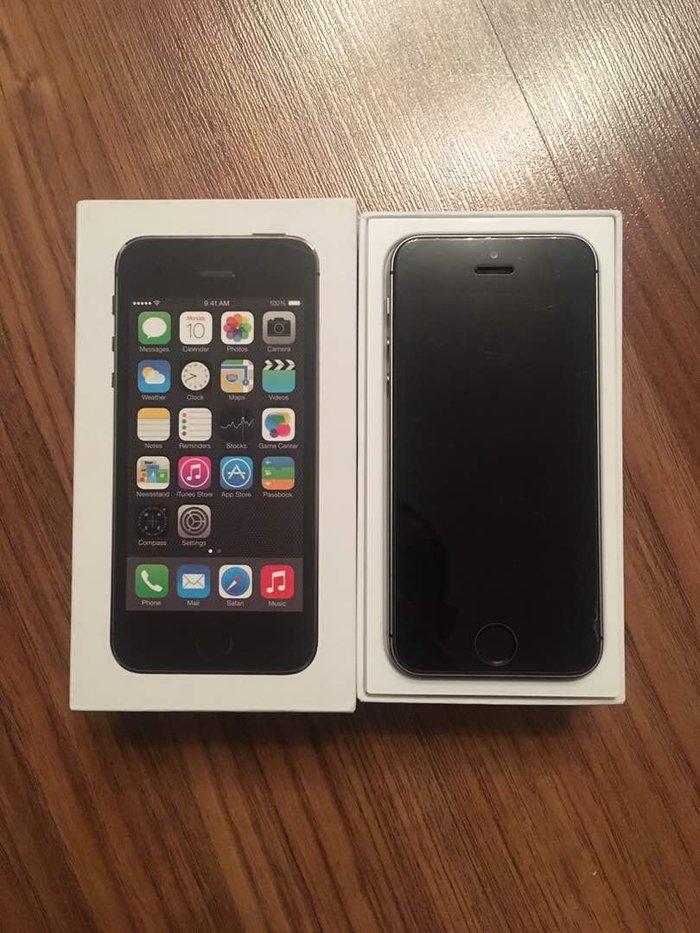 айфон 5s,16гб. не рэфка!! работает без нареканий, один хозяин, в короб в Лебединовка