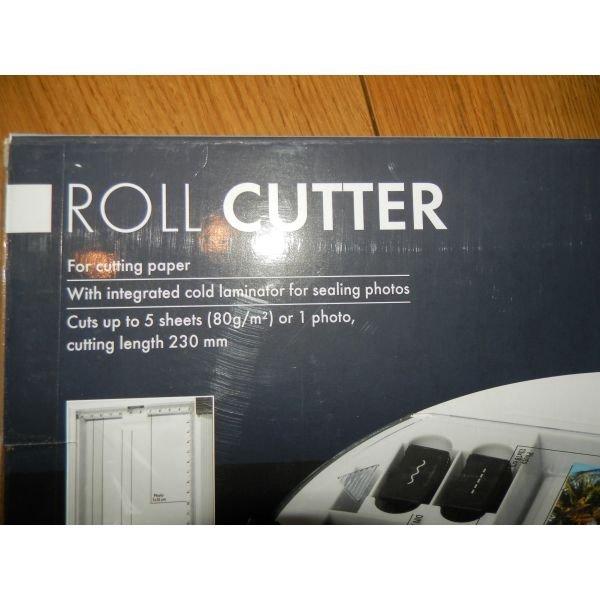 Μηχανή για κοπη χαρτιου ολοκαινουργια . Photo 1
