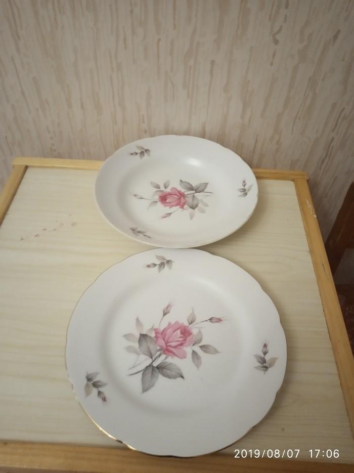 Набор тарелок 6шт,Япония. Цена за набор.. Photo 0