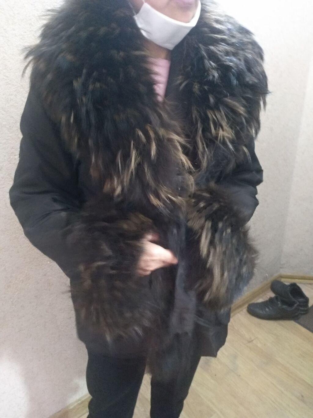 Продается пихора на зиму. Мех - чернобурка, мех на воротнике и рукавах: Продается пихора на зиму. Мех - чернобурка, мех на воротнике и рукавах