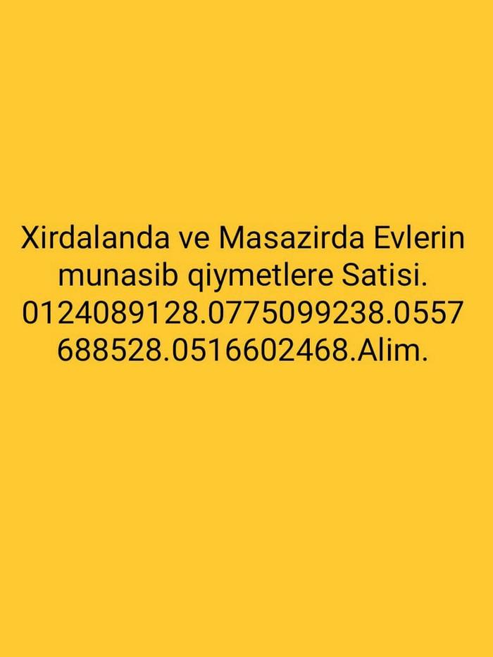 Satış Evlər vasitəçidən: 140 kv. m., 3 otaqlı. Photo 0
