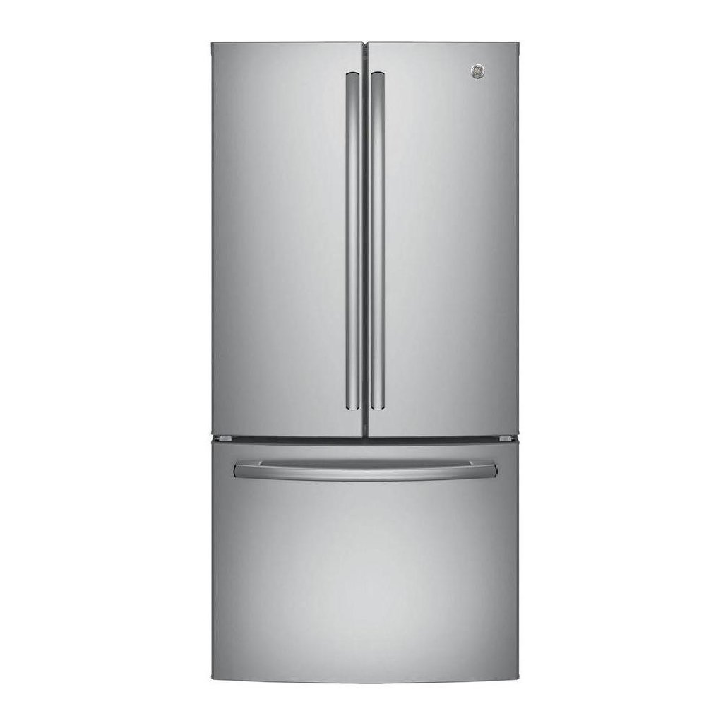 GE GNE25JSKSS French Door Refrigerator 32.8 24.8 cu ft Stainless Steel