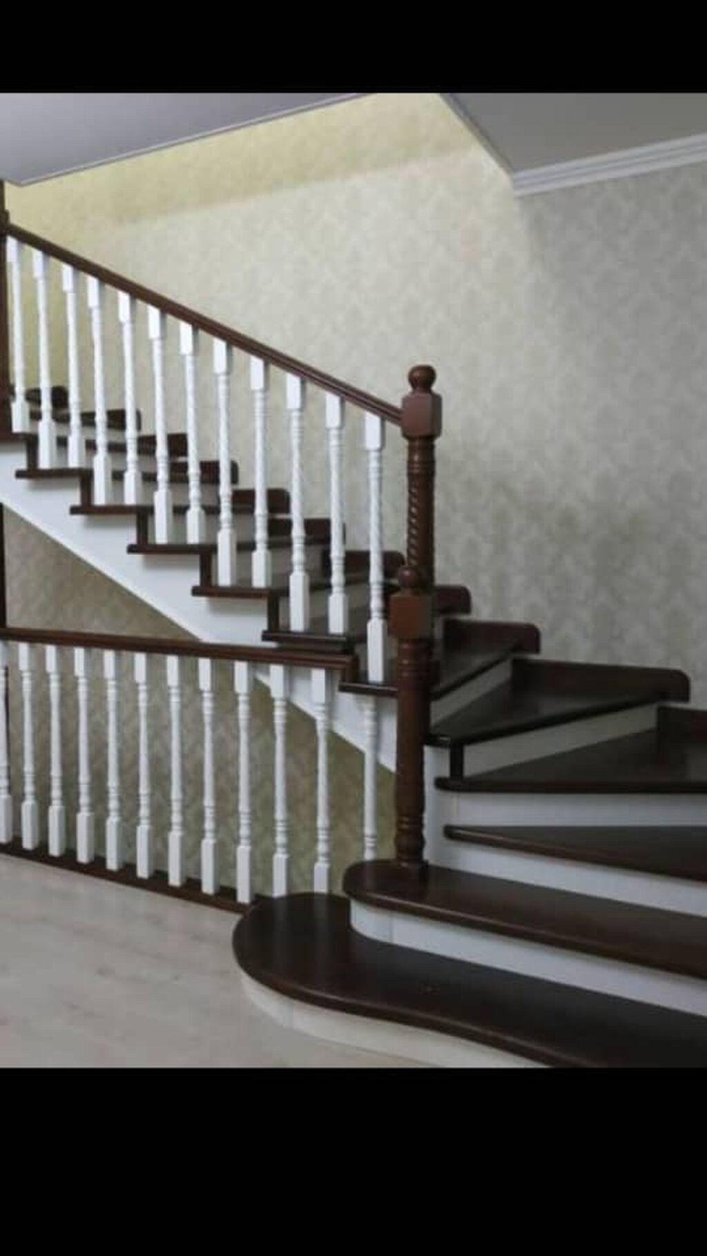 Лестницы. Каркас лестницы. Установка дверей. (Эшиктерди орнотуу )  +