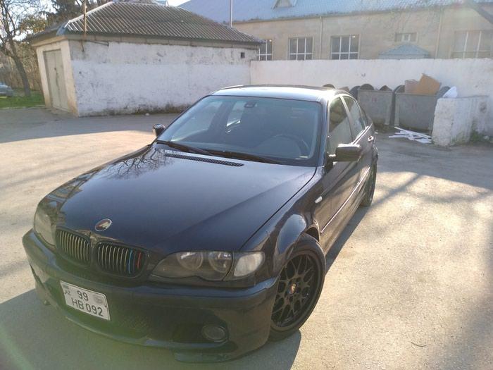 BMW 320 2002. Photo 0