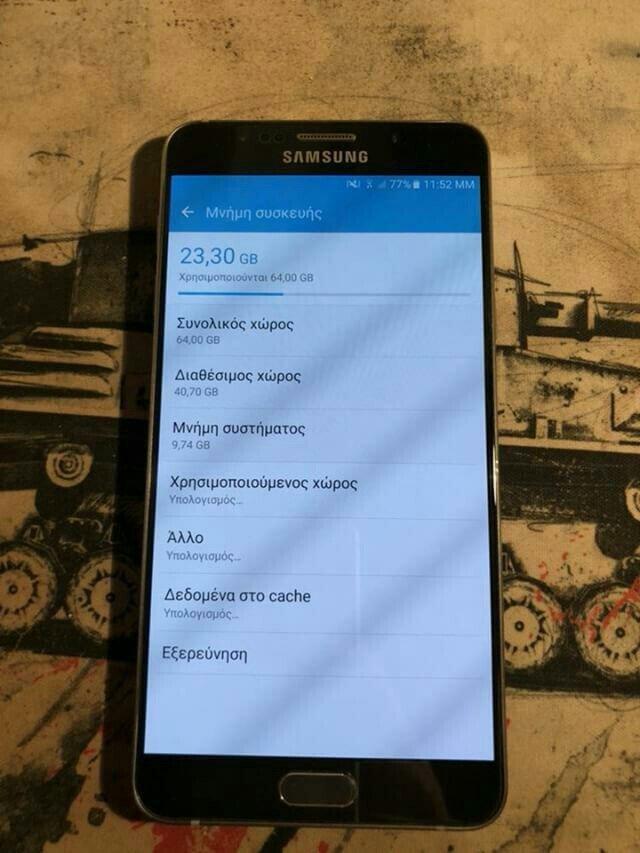 Samsung Galaxy Note 5 64gb αγοράστηκε τον. Photo 0
