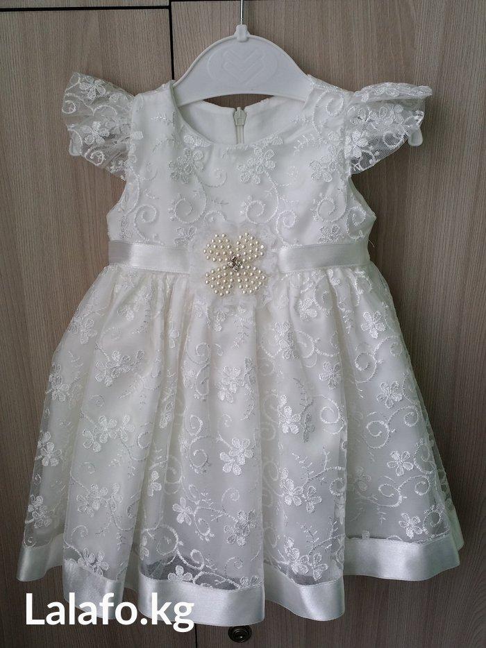 Платье (на рост 60-70см), б/у в отличном состоянии в Бишкек