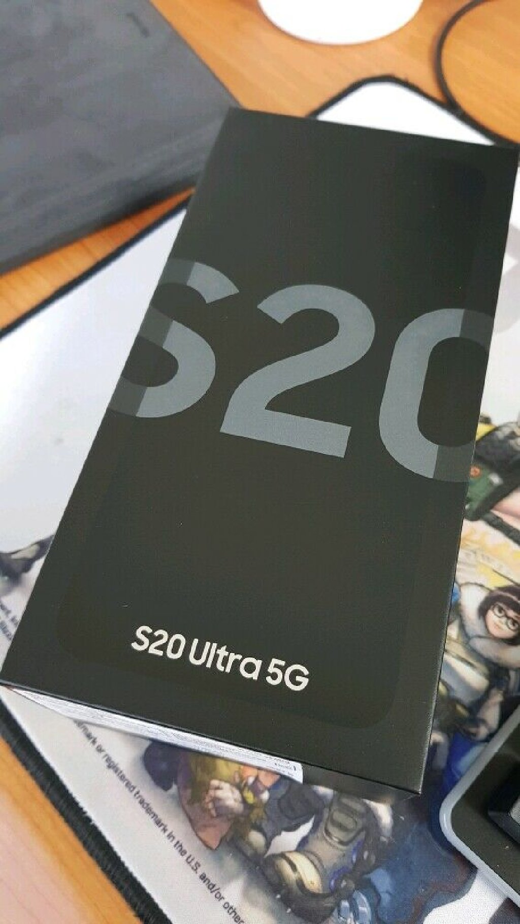 Новый Samsung Galaxy S20 512 ГБ Серый