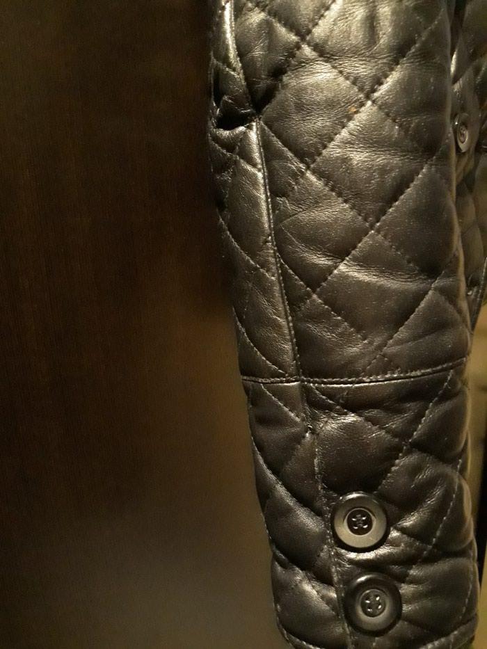 Δερματινο μπουφαν μεσατο σε αριστη κατασταση νουμερο small. Photo 2