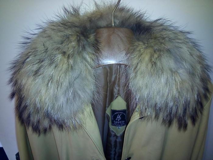 Real leather jacket. Photo 3