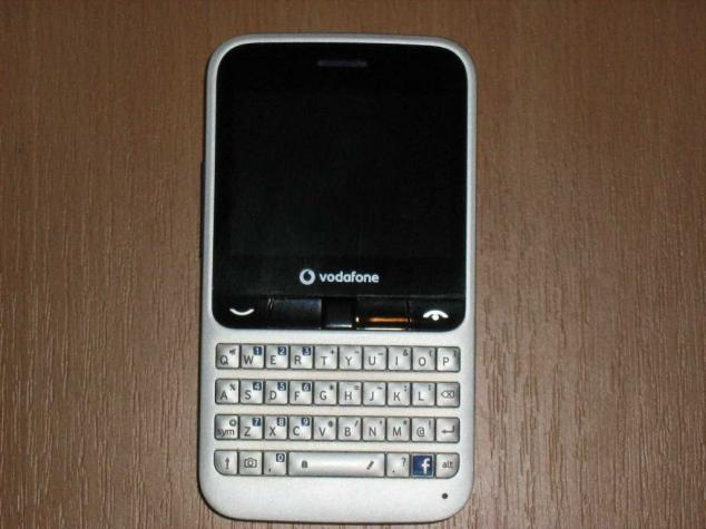 Vodafone 555 blue , πληρως λειτουργικο χωρις φορτιστη. Photo 0