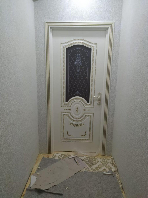 Qaplarin qurashdirilmasi:Установка дверей