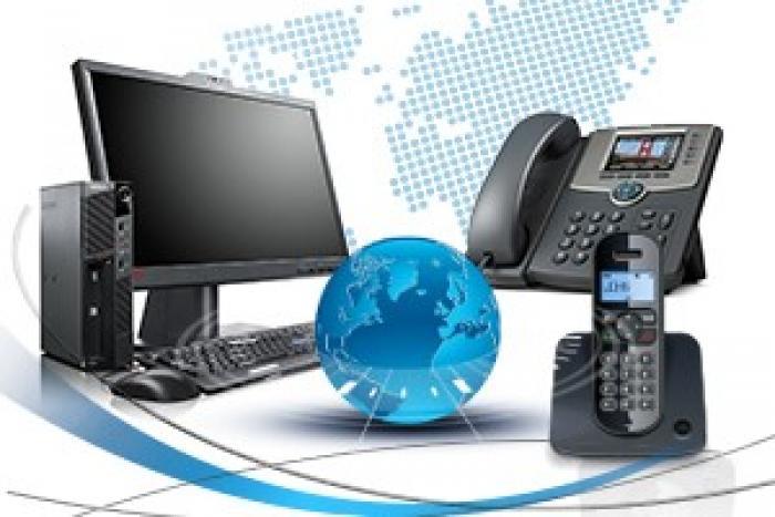Ofis IP-telefoniya (IP PBX) telefon serveridir və proqram təminatıdır,