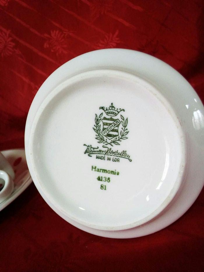 Части от чайного сервиза, веймар гдр все что на фото. Photo 1