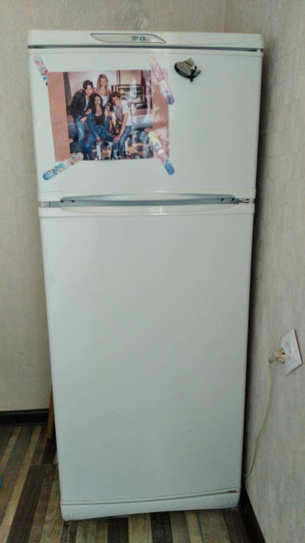 Б/у Однокамерный Белый холодильник Stinol