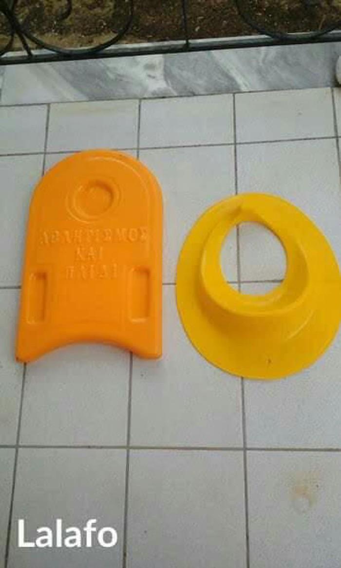 Σανίδα κολύμβησης και βοηθητικό κάλυμμα τουαλέτας για παιδιά και τα δύο μαζί 8Ε