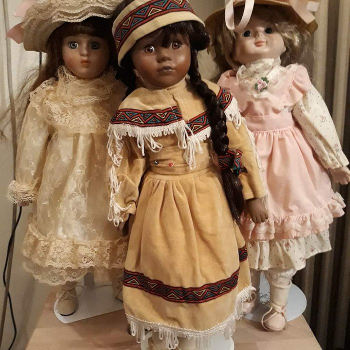 Πορσελάνινες Βιεννέζικες κούκλες. . Photo 2