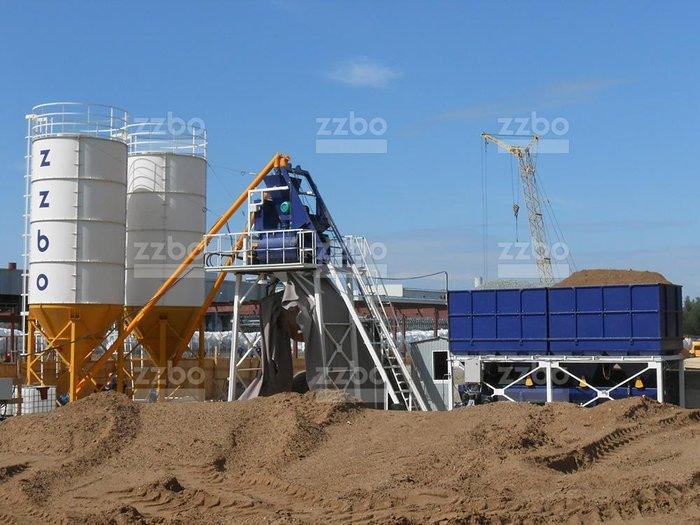 Бетонный завод Скип 60Характеристики:Производительность, куб. в Душанбе