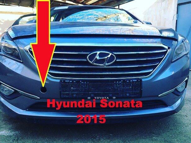 Буксировочная заглушка от Hyundai Sonata 2015.. Photo 0