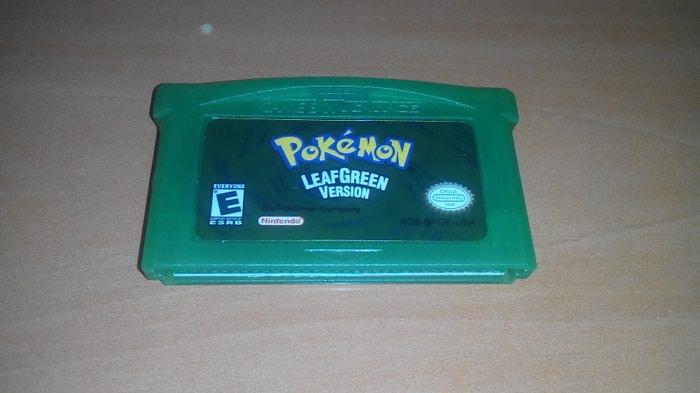 Pokemon LeafGreen - Λειτουργεί τέλεια και κάνει Save Κανονικά. repro. Photo 0