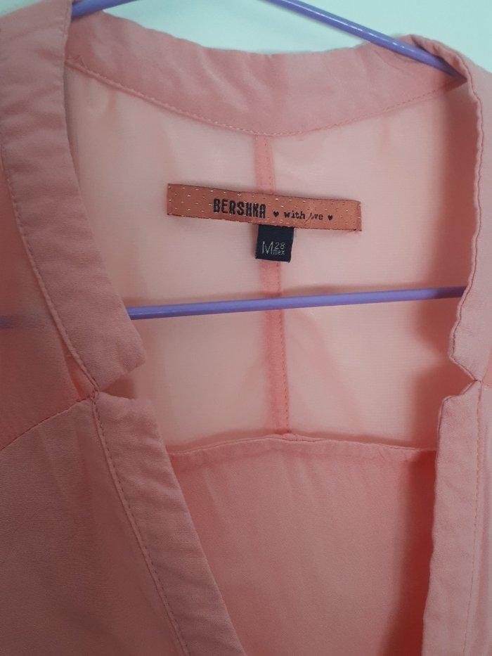 Μπλουζα ολοκαινουρια σε παλ χρωμα. Με διαφανεια στους ωμους και λαστιχ. Photo 4